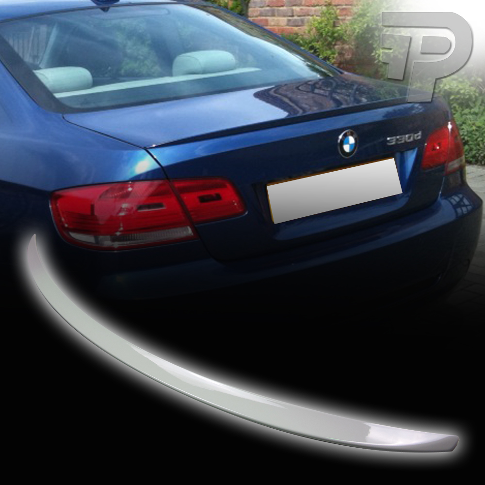 PAINTED E92 BMW COUPE M3 TYPE TRUNK REAR SPOILER 300 WHITE