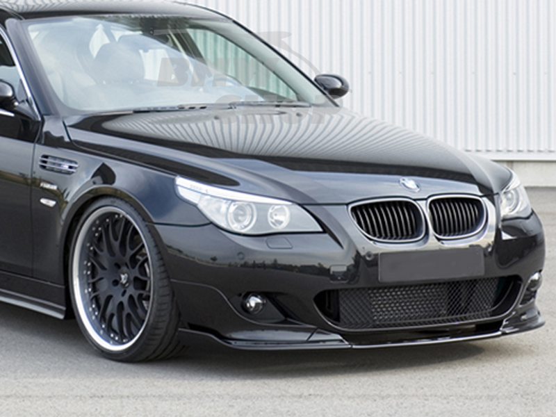 for bmw e60 m5 only h type front bumper lip spoiler pre. Black Bedroom Furniture Sets. Home Design Ideas