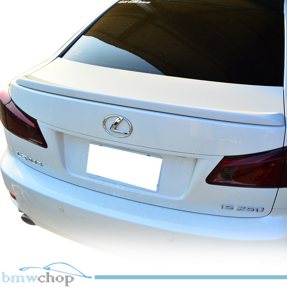 for 06 12 lexus is250 is350 f style sedan rear boot trunk. Black Bedroom Furniture Sets. Home Design Ideas