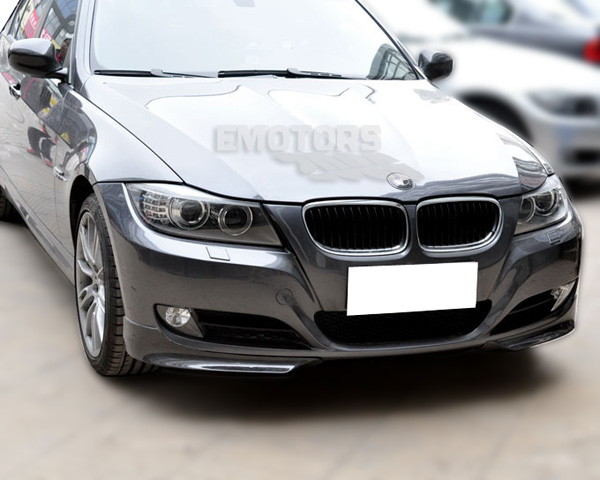 painted bmw e90 3 series saloon lci front splitter abs 09. Black Bedroom Furniture Sets. Home Design Ideas