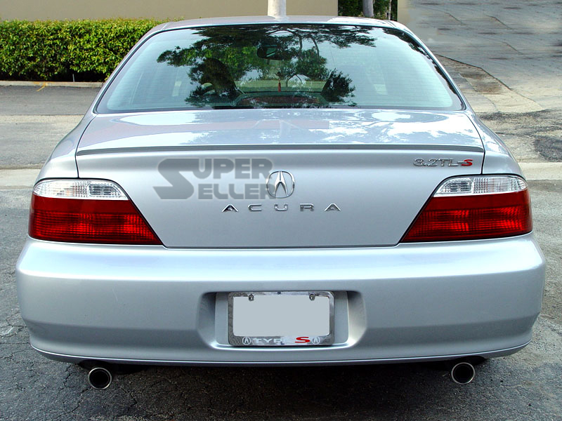 painted 99 03 acura tl 2nd rear trunk lip spoiler wing ebay. Black Bedroom Furniture Sets. Home Design Ideas